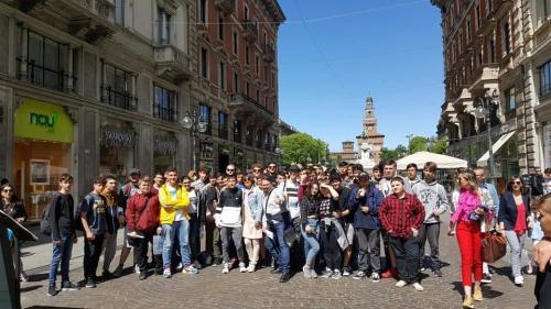 Gita scolastica biennio a Milano - 26-29/04/2019